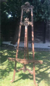 Easel - Large antique wooden easel for Weddings