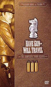 Have Gun Will Travel Season 3 New DVD Dan Barton Rafael Campos Lisa Montell - Greeley, Colorado, United States - Have Gun Will Travel Season 3 New DVD Dan Barton Rafael Campos Lisa Montell - Greeley, Colorado, United States