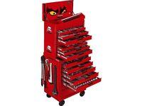 Teng 600 piece tool kit with tool box roller cab