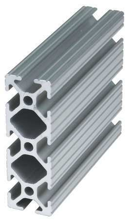 80/20 1030-72 Extrusion,T-Slotted,10S,72 In L,1 In W