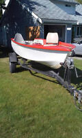12' Boat, Trailer and Motor 4 Sale - $1400 (Abbotsford)