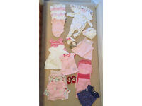 Large bundle 0-3 baby girl summer clothes #2