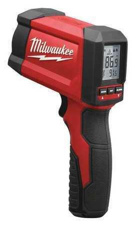 """MILWAUKEE 2268-20 IR Therm,1"""" @ 12"""",-22  to 1022 Deg. F"""
