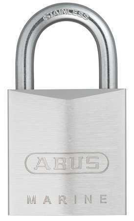 Abus 75Ib/30 Kd Padlock, Keyed Different, Standard Shackle, Rectangular Brass