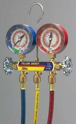Yellow Jacket 42024 Mechanical Manifold Gauge Set2-valve