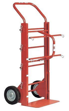GARDNER BENDER WSP-140 Wire Spool Cart,43 x16 x22 In,4 Spindles