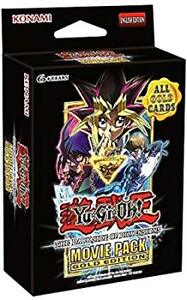 YUGIOH TCG Dark Side Of Dimensions Movie Pack Gold Edition