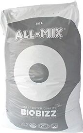 16 Bags of BioBizz 50L All-Mix Potting Soil