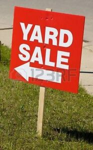 EXTRA-LARGE YARD SALE, Next month, Sat JULY 8th & Sun July 9th
