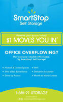 Self-Storage Available! BY FAR BEST RATES IN DURHAM!!