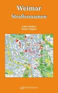 Weimar Straßennamen