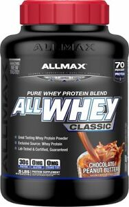 5lb AllWhey Max Classic Protien Powder Sealed