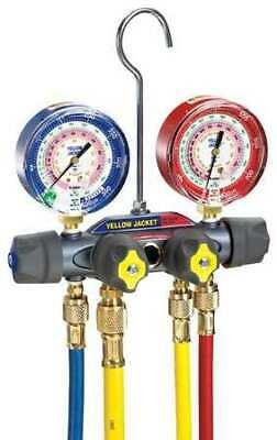 Yellow Jacket 49968 Mechanical Manifold Gauge Set4-valve