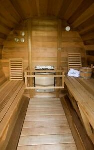 INDOOR AND OUTDOOR SAUNAS. MADE IN CANADA WITH REAL Peterborough Peterborough Area image 5