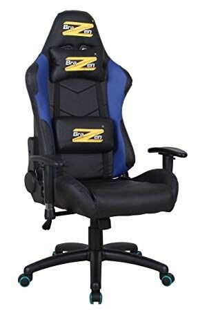 Black Brazen Argos Gaming Desk Office Chair Rrp 140