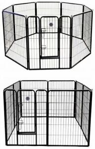Go Pet Club 32-Inch Heavy Duty Pet Play and Exercise Pen with 8