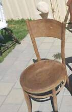 Wood Vintage Bentwood Chair Forrestfield Kalamunda Area Preview