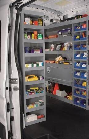 Shelf Tower for High Roof Vans - By American Van