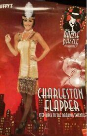 Charleston yellow/golden costume