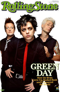 Green Day Rolling Stone Poster 25-2 West Island Greater Montréal image 1