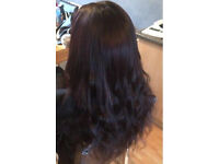HAIR EXTENSIONS Coventry White Asian Afro hairdresser micro rings la weave Box Braids Dreads