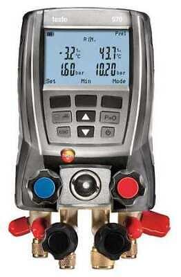 Testo 0563-5703 Digital Manifold Gauge4-valve