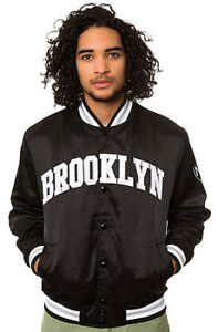 Mitchell and Ness jacket Brooklyn nets version - Black