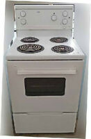 "Stove, Apartment size, Electric, Roper, 24"" wide, Very clean, in"