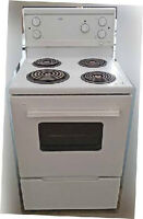 """Stove, Apartment size, Electric, Roper, 24"""" wide, Very clean, in"""