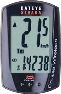 CatEye Strada Double Wireless Speed and Cadence Bicycle Computer