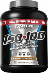 HERC'S Nutrition Brampton - Dymatize Iso 100 5lb Protein
