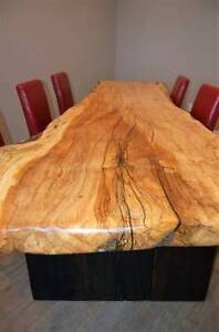 Beautiful Live Edge and Reclaimed Wood Desks/ Tables