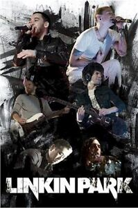 LINKIN-PARK-FACES-LIVE-POSTER-Music