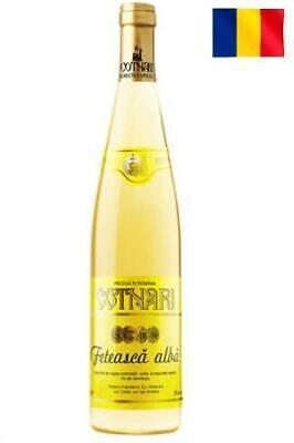 """Wein Cotnari weiß lieblich """"Feteasca Alba"""" 11,5% vol Weißwein Romania Wino Вино"""