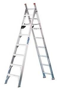8ft/13ft 3 way combo ladder
