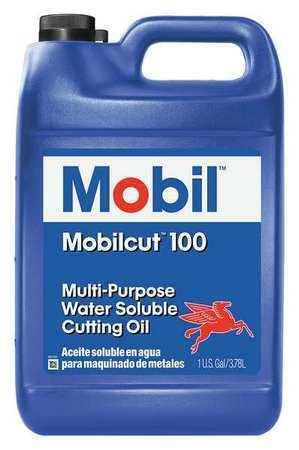Mobil 121095 Mobilcut 100, Cutting Oil, 1 Gal