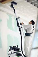POPCORN CEILING REMOVAL EXPERTS using PLANEX AUTO DUST COLLECT