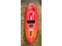 Perception Five-O Surf Kayak. Hawaii 5 - 0 Surfing Kayak.