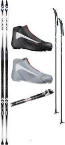 Salomon Escape 5 Grip Ski Package (Skis, Boots, Bindings, Poles)