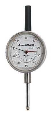 Tesa Brown Sharpe 14.82022 Dial Indicator0 To 1 In0-100