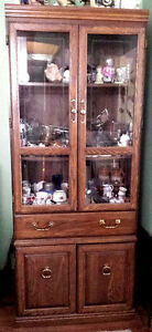 China cabinet and entertainment unit