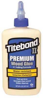 Titebond 5003 Wood Glue Premium Exterior 8 Oz Cream