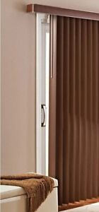 Chocolate Brown (Vertical Blinds)