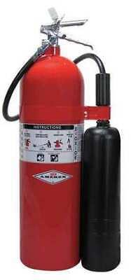 Amerex 331 Fire Extinguisher 10bc Carbon Dioxide 15 Lb.