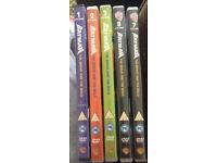 Batman the brave & the bold dvds x5