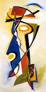 """UNFRAMED Alfred Gockel ABSTRACT Art Print """"READY FOR LIFT OFF"""" Bedford Bayswater Area Preview"""