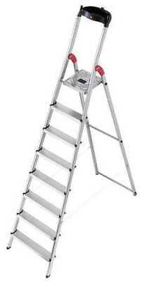 Hailo 7 ft. Aluminum Platform Stepladder , 8858-281
