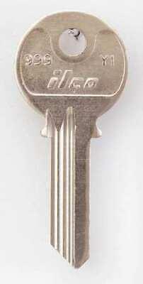 Kaba Ilco 999-y1 Key Blankbrasstype Y15 Pinpk10