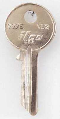 Kaba Ilco 997e-y52 Key Blankbrasstype Y525 Pinpk10