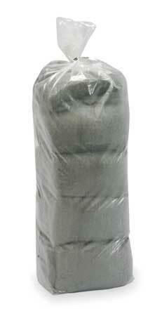 Zoro Select 2Kjl1 Industrial Grade Steel Wool,Medium,Pk16
